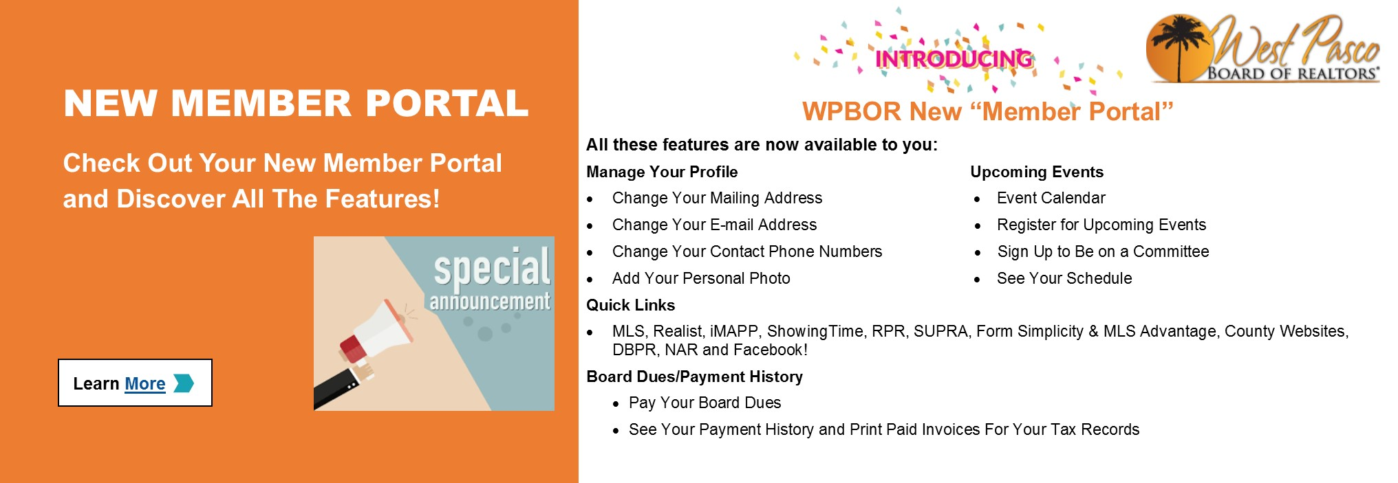 WPBOR_Website_Slider_New Member Portal