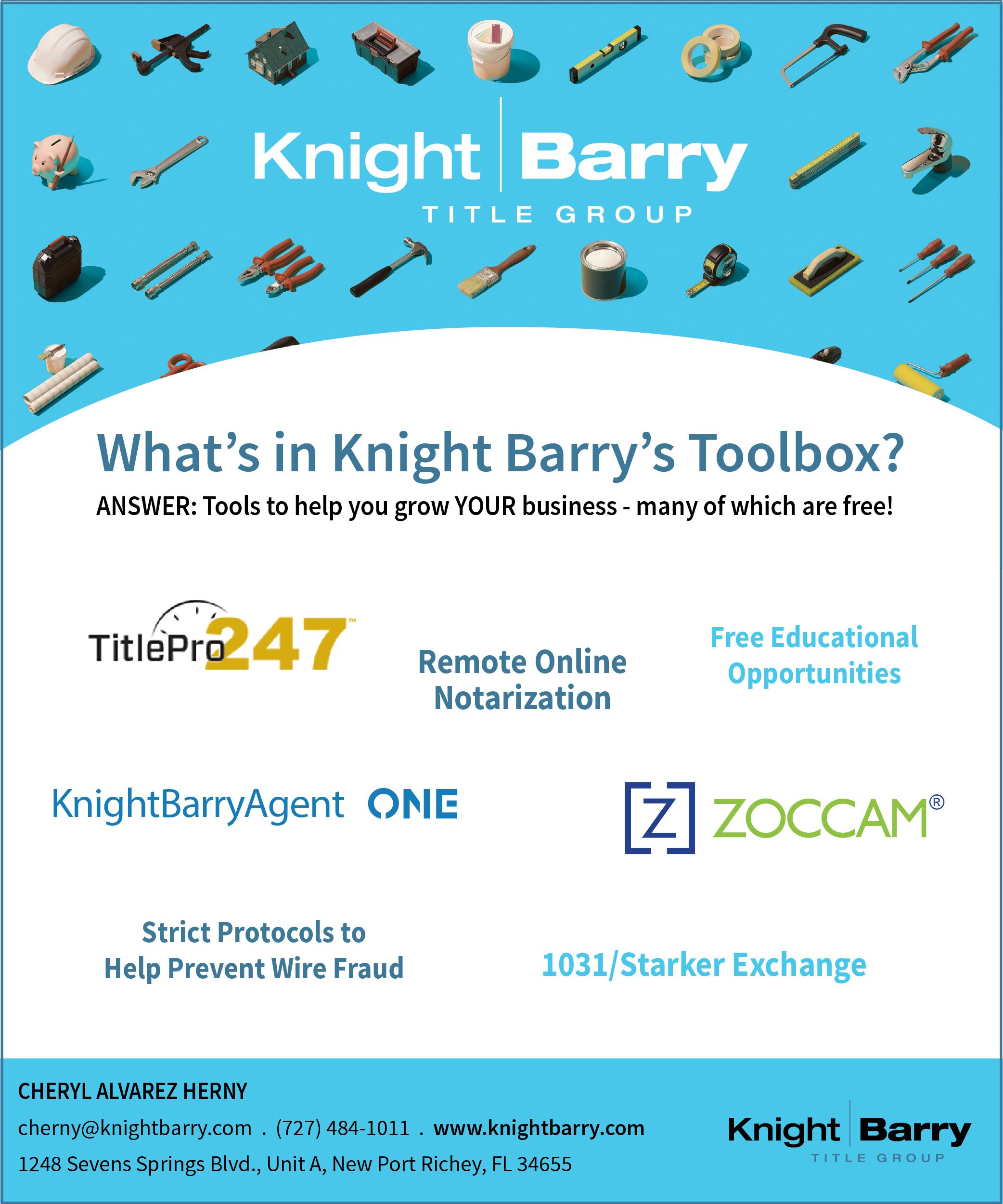 Knight Barry Title Group Ad